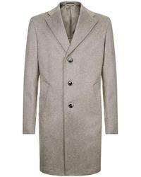 Harrods - Deconstructed Cashmere Overcoat - Lyst