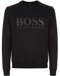 BOSS Green - Logo Sweater - Lyst