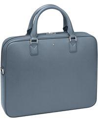 Montblanc Leather Sartorial Document Holder - Blue