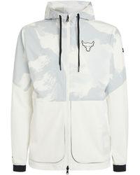 Under Armour Project Rock Legacy Windbreaker Jacket - White