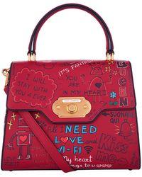 e9b7788c6393 Dolce   Gabbana - Welcome Print Handbag - Lyst