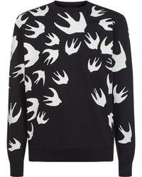 McQ - Swallow Print Sweater - Lyst