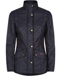 Barbour Cavalry Polarquilt Jacket - Blue