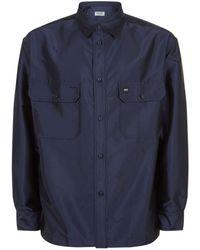KENZO - Oversized Jacquard Logo Shirt - Lyst