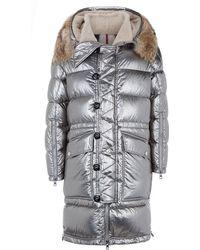 Moncler | Inuit Fur Trim Jacket | Lyst
