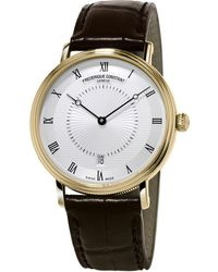 Frederique Constant - Slimline Classics Automatic Watch - Lyst