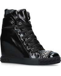 Casadei - Wedge Trainer Boots - Lyst