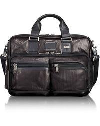 Tumi - Andersen Slim Commuter Leather Briefcase - Lyst