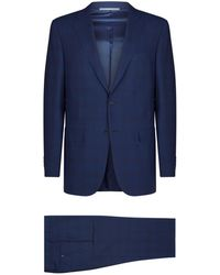 Canali - Can Sor Suit Wool S140 - Lyst