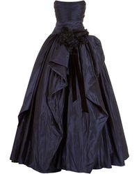 Marchesa - Taffeta Gown - Lyst