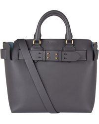 Burberry - Medium Leather Belt Bag - Lyst