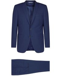 Canali - Check Wool Two-piece Suit - Lyst