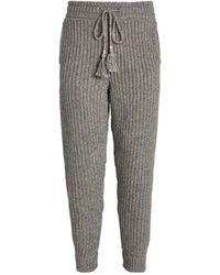 Alanui Knit Sweatpants - Grey