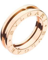 BVLGARI Rose Gold B.zero1 Ring - Metallic