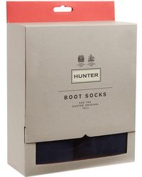 HUNTER - Fleece Boot Socks - Lyst