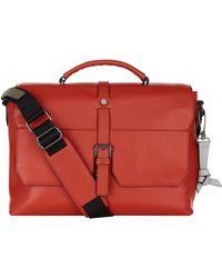 Ted Baker - Leather Sandune Messenger Bag - Lyst