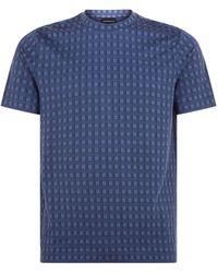 Armani - Geometric T-shirt - Lyst