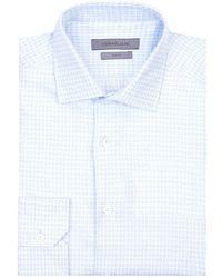 Corneliani - Grid Weave Shirt - Lyst