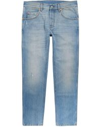 Gucci Slim Tapered Jeans - Blue
