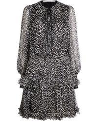 Stella McCartney - Polka-dot Ruffle Dress - Lyst