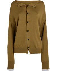 Yohji Yamamoto - Button-up Cardigan - Lyst