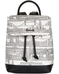 Harrods Brompton Road Backpack - Multicolor