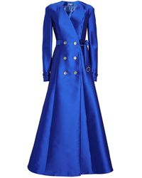 Alexis Mabille Double-breasted Gown - Blue