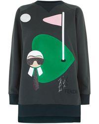 Fendi - Karlito Golf Sweatshirt - Lyst