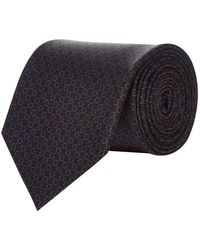Pal Zileri - Grid Silk Tie - Lyst
