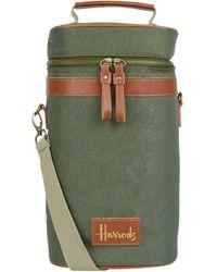 Harrods Drinks Cooler Bag - Green