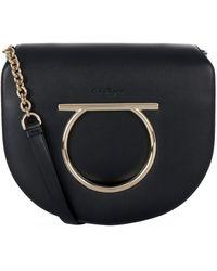 Ferragamo - Medium Vela Gancio Shoulder Bag - Lyst