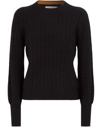 Chinti & Parker Cashmere Jumper - Black