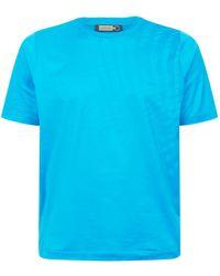 Zilli - Grid Print T-shirt - Lyst