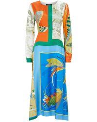 Weekend by Maxmara - Multi-print Dress - Lyst