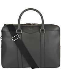BOSS - Leather Breifcase - Lyst