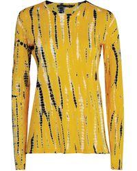 Proenza Schouler - Tie-dye Long-sleeved Top - Lyst