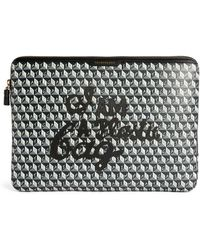 Anya Hindmarch I Am A Plastic Bag Technology Case - Gray