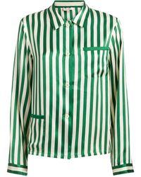 Morgan Lane - Ruthie Striped Pyjama Top - Lyst