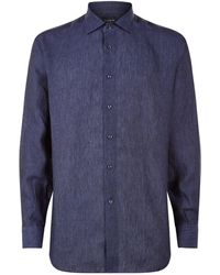Harrods - Linen Shirt - Lyst