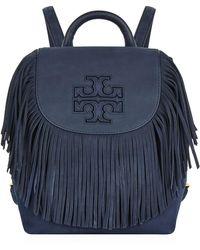 Tory Burch - Harper Fringe Mini Backpack - Lyst