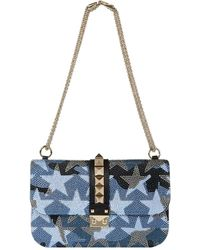 Valentino - Medium Camustars Shoulder Lock Bag - Lyst