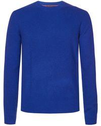 Rag & Bone Kaden Cashmere Sweater - Blue
