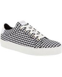 Claudie Pierlot - Check Sneakers - Lyst