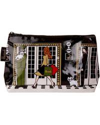 Harrods Elevators Cosmetic Bag - Black