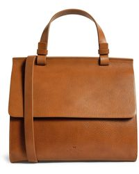 Weekend by Maxmara Leather Cross-body Bag - Natural