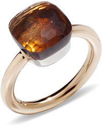 Pomellato - Nudo Madeira Quartz Classic Ring - Lyst