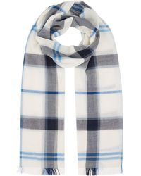 Barbour - Check Print Scarf - Lyst