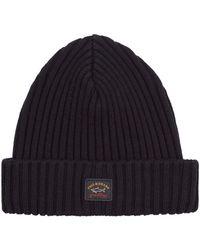 Paul & Shark - Wool Beanie Hat - Lyst