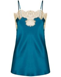 Gilda & Pearl - Silk Lace Cami Top - Lyst