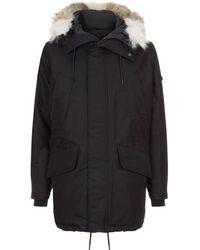 Sandro - Coyote Fur Coat - Lyst